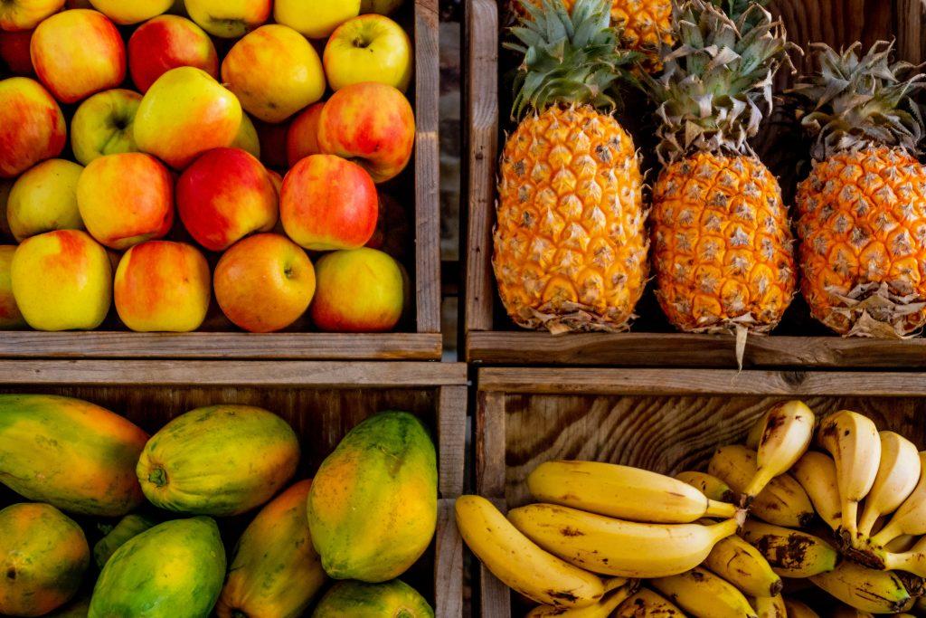 Obst und Vitamine